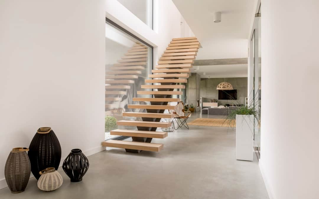 8 Stunning Floating Stairs Designs That Have to Be Seen to Be Believed